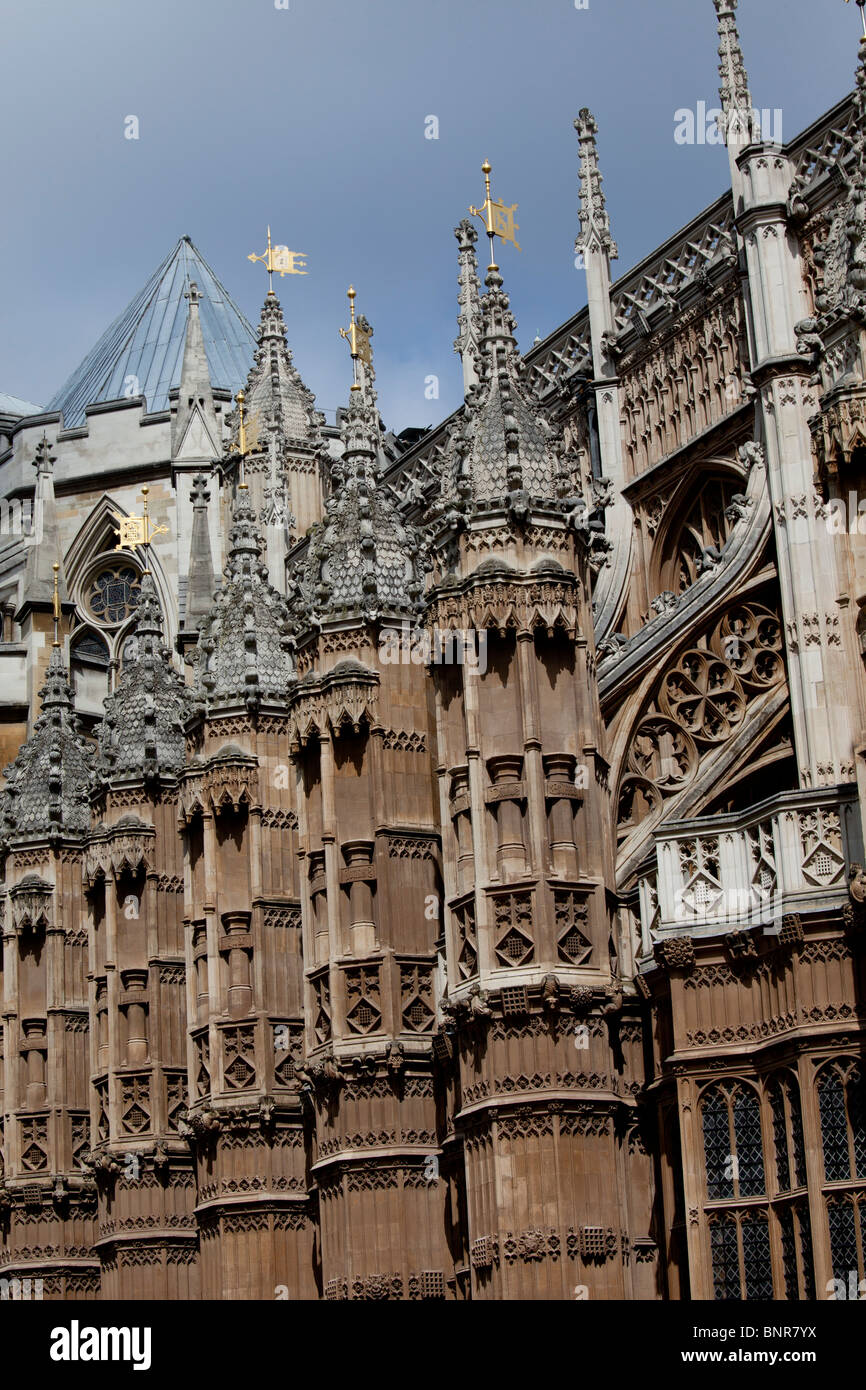 El Camarín, una parte de la Abadía de Westminster, Londres, Inglaterra Foto de stock