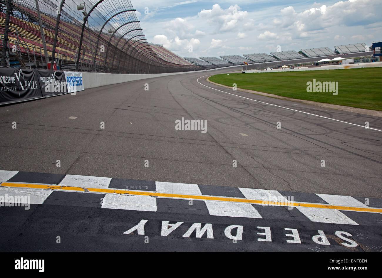 Michigan International Speedway Imagen De Stock