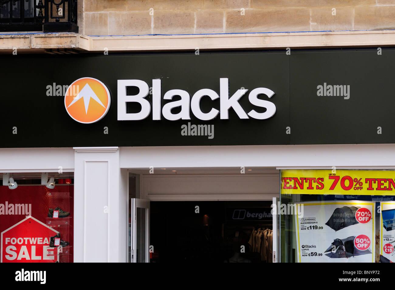 Los negros al aire libre tienda de camping, Cambridge, Inglaterra, Reino Unido. Imagen De Stock