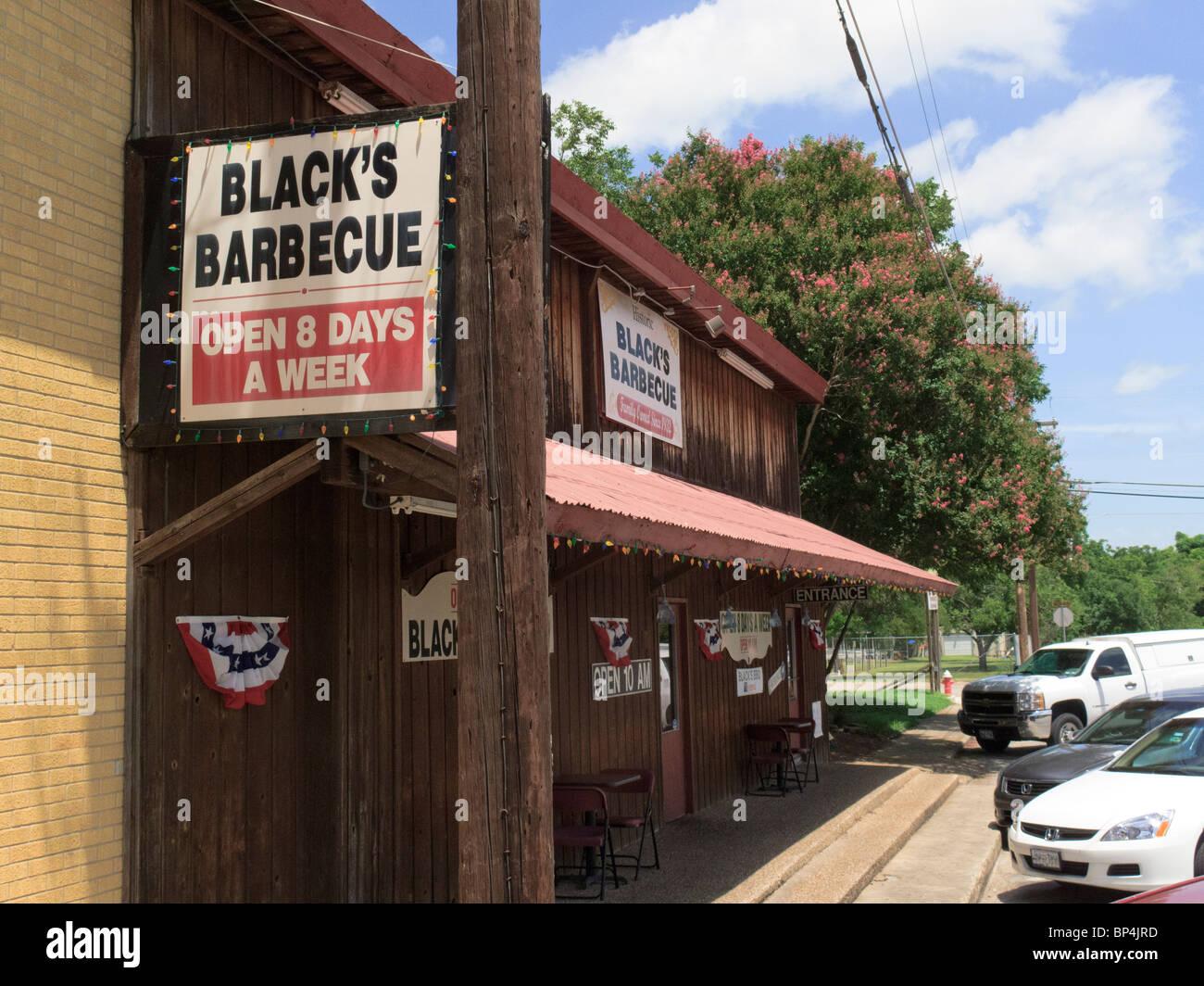 Negros de barbacoas Imagen De Stock