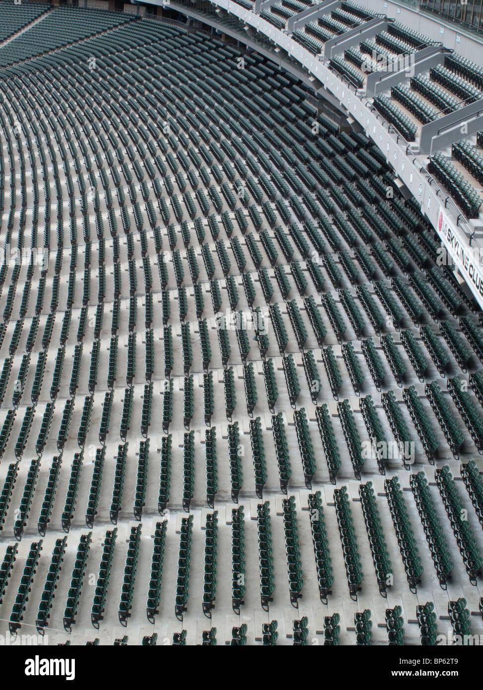 Resumen fotos de asientos del estadio Imagen De Stock