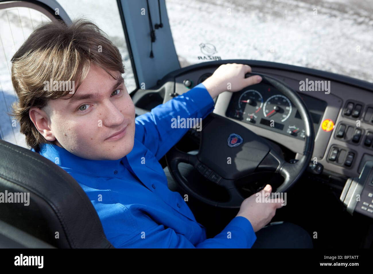 Conductor de autobús Imagen De Stock