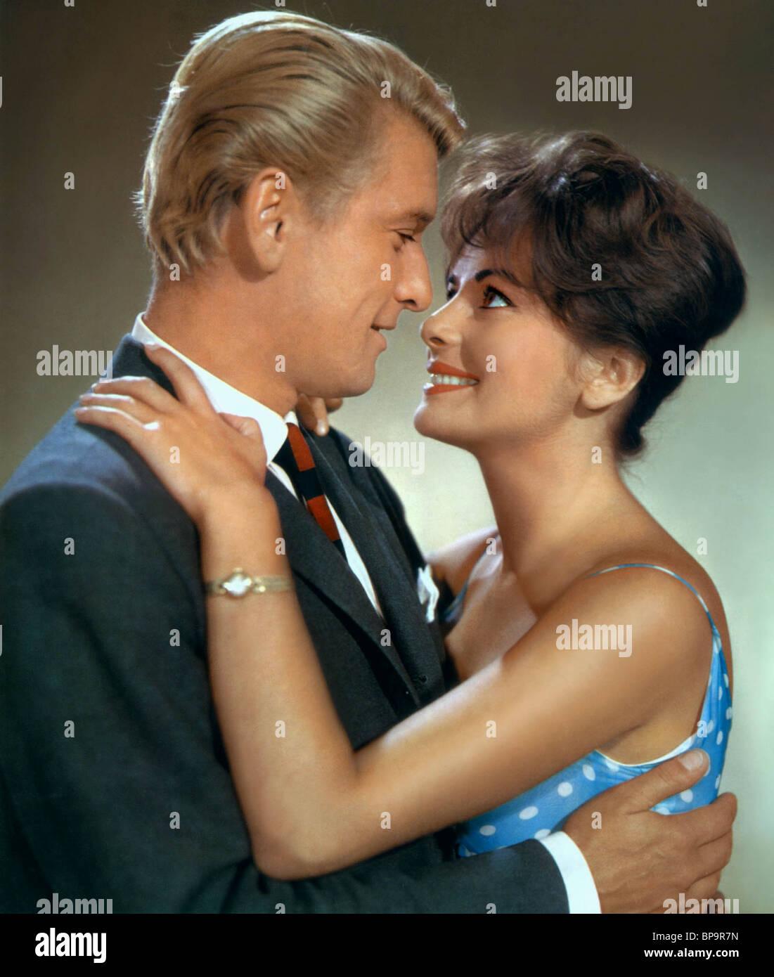 HARS VON BOROSDY & Karin Dor IM SCHWARZEN ROBI (1961) Imagen De Stock
