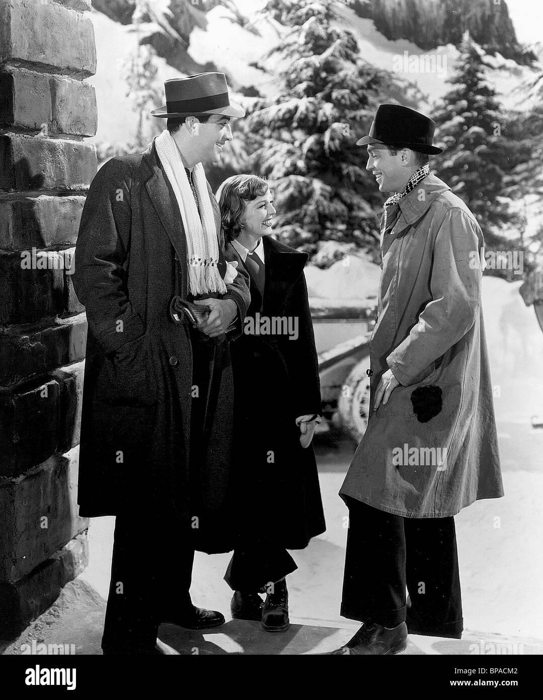 ROBERT TAYLOR, MARGARET SULLAVAN, Franchot Tone, tres camaradas, 1938 Imagen De Stock