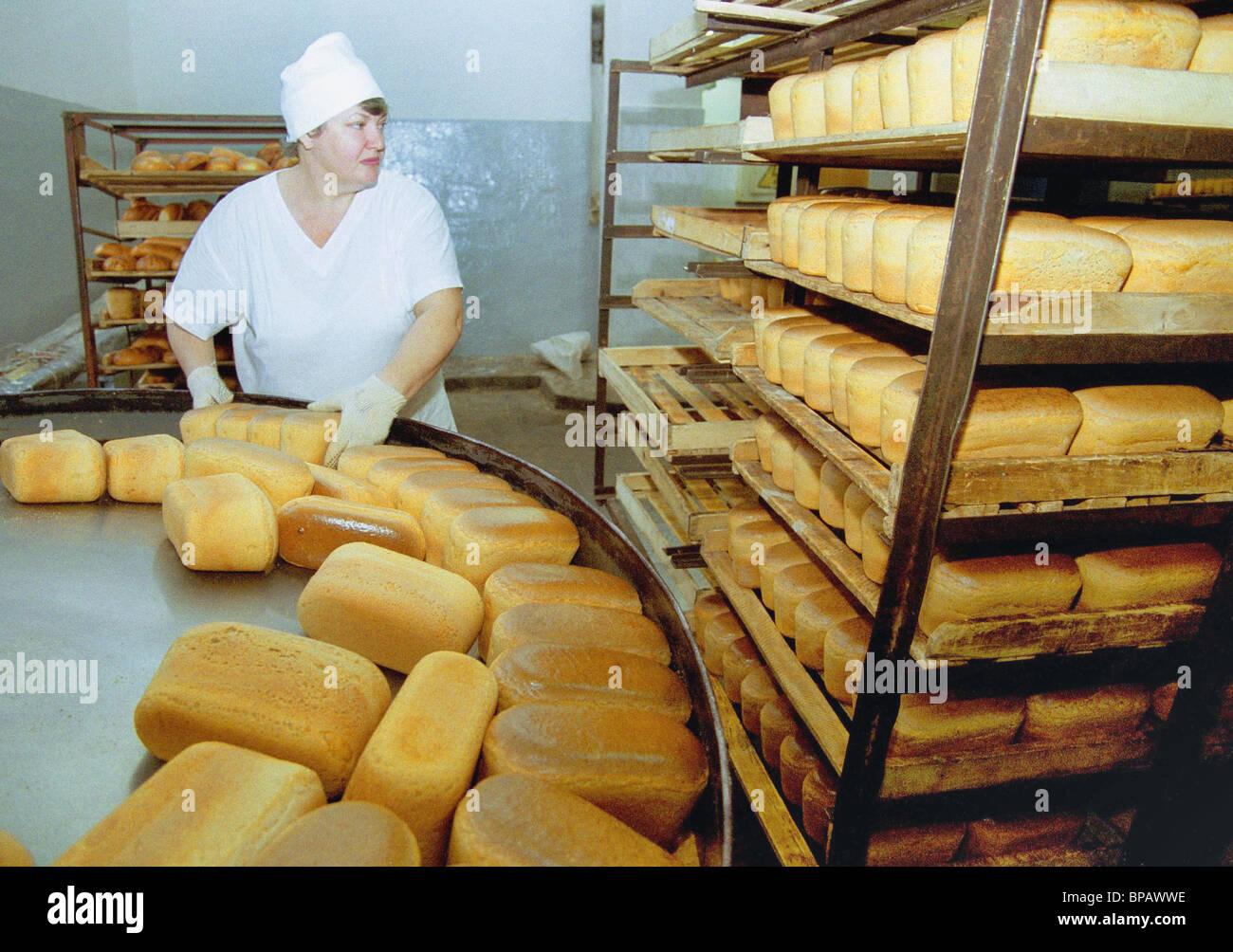 Aumento en el precio del pan se hizo evidente en muchas regiones de Rusia Imagen De Stock
