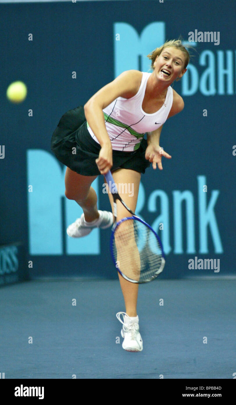 16ª Copa Kremlin Torneo Internacional de Tenis Foto de stock