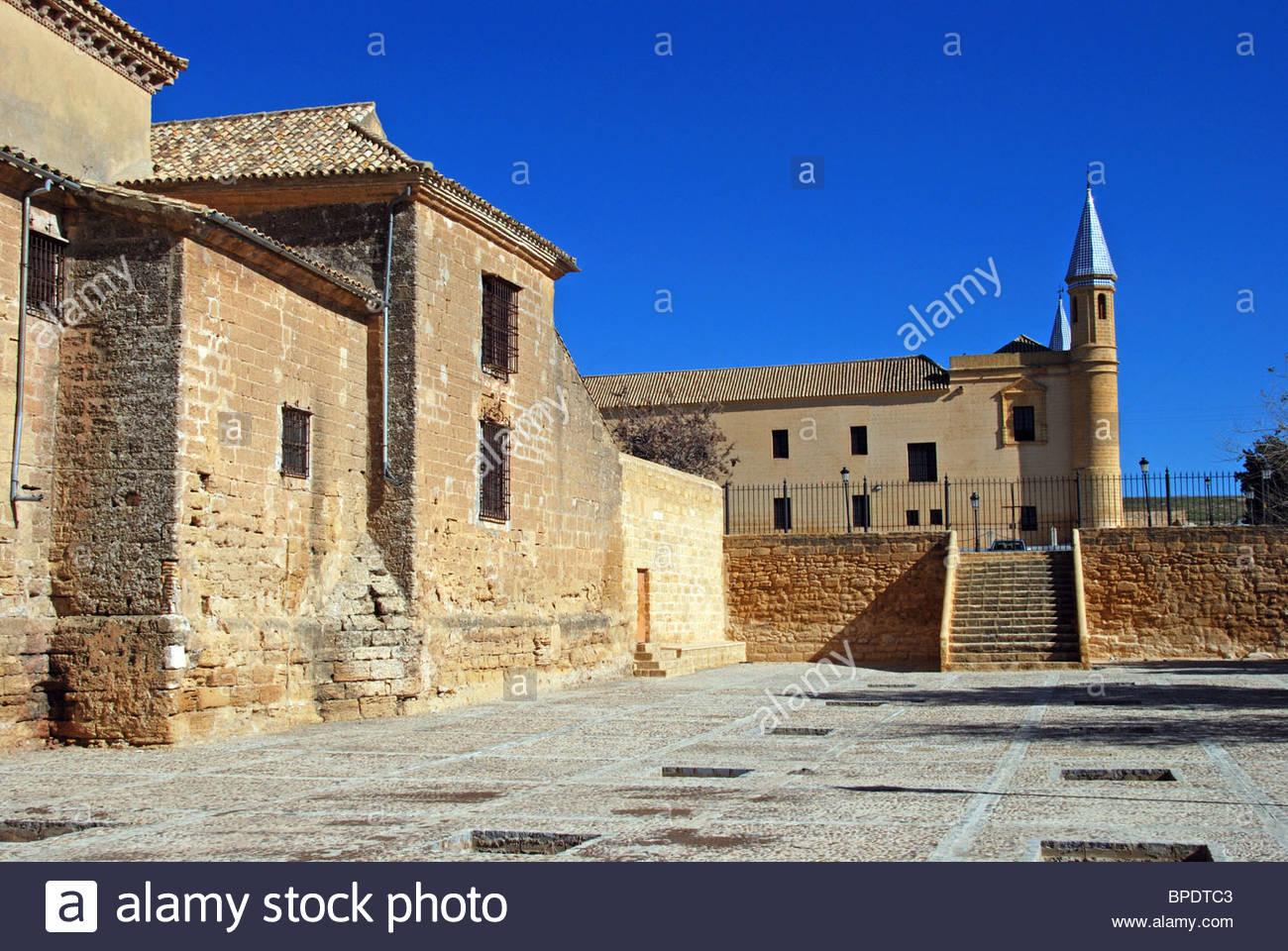 Iglesia colegial de Santa María), Osuna, provincia de Sevilla, Andalucía, España, Europa Occidental. Imagen De Stock