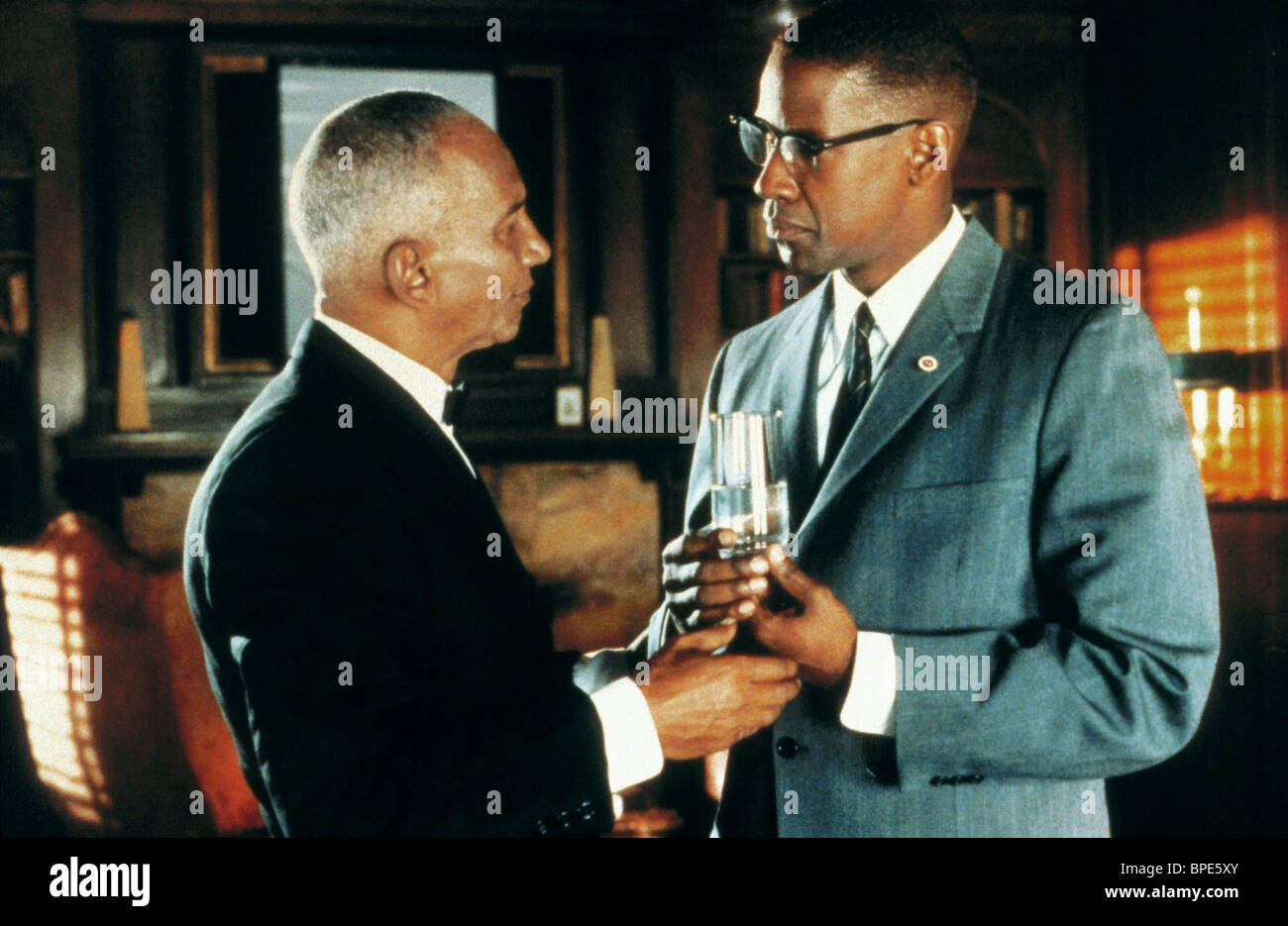 AL FREEMAN JR., Denzel Washington, Malcolm X, 1992 Imagen De Stock