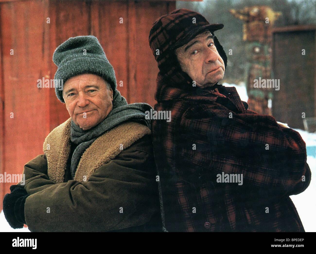 JACK LEMMON, Walter Matthau, hombres gruñones, 1993 Foto de stock