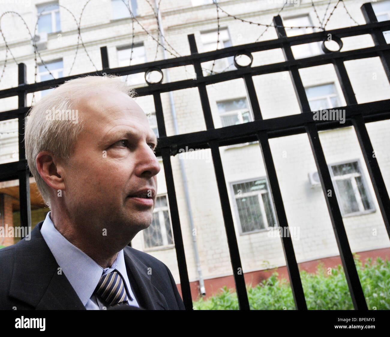 TNK BP jefe ejecutivo interrogó en la evasión fiscal probe Imagen De Stock