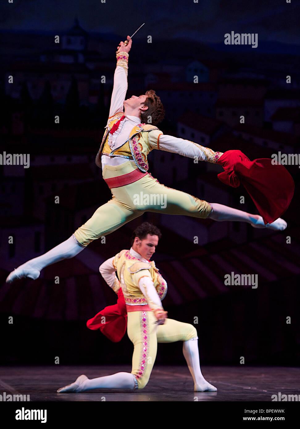Dress rehersal para el ballet 'Magia De La Danza Imagen De Stock