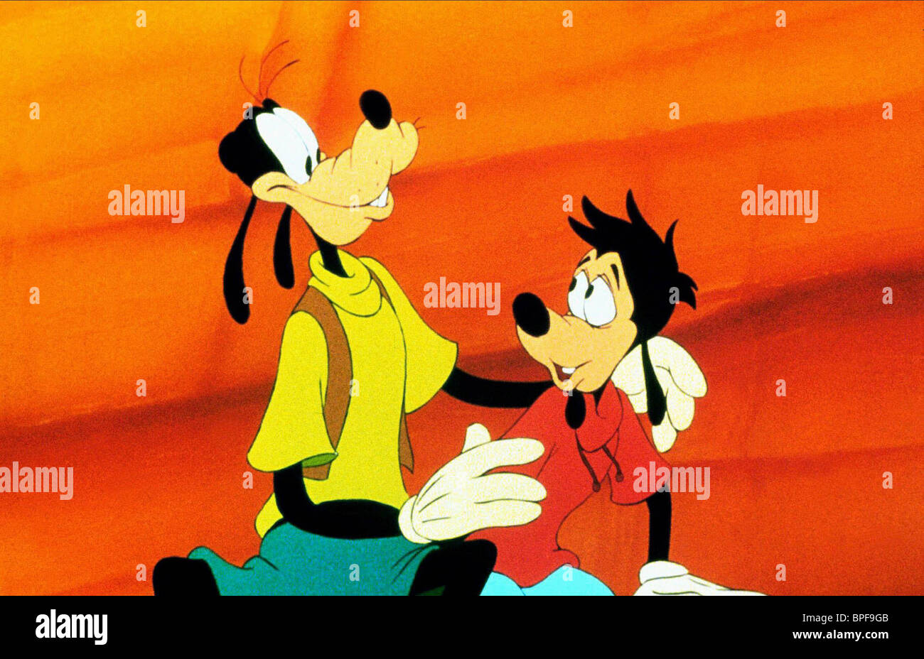 GOOFY, Max, un Goofy Movie, 1995 Foto de stock