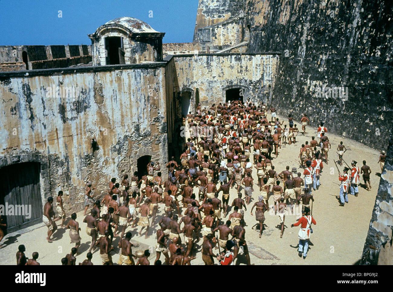 Escena de esclavos Amistad (1997) Imagen De Stock