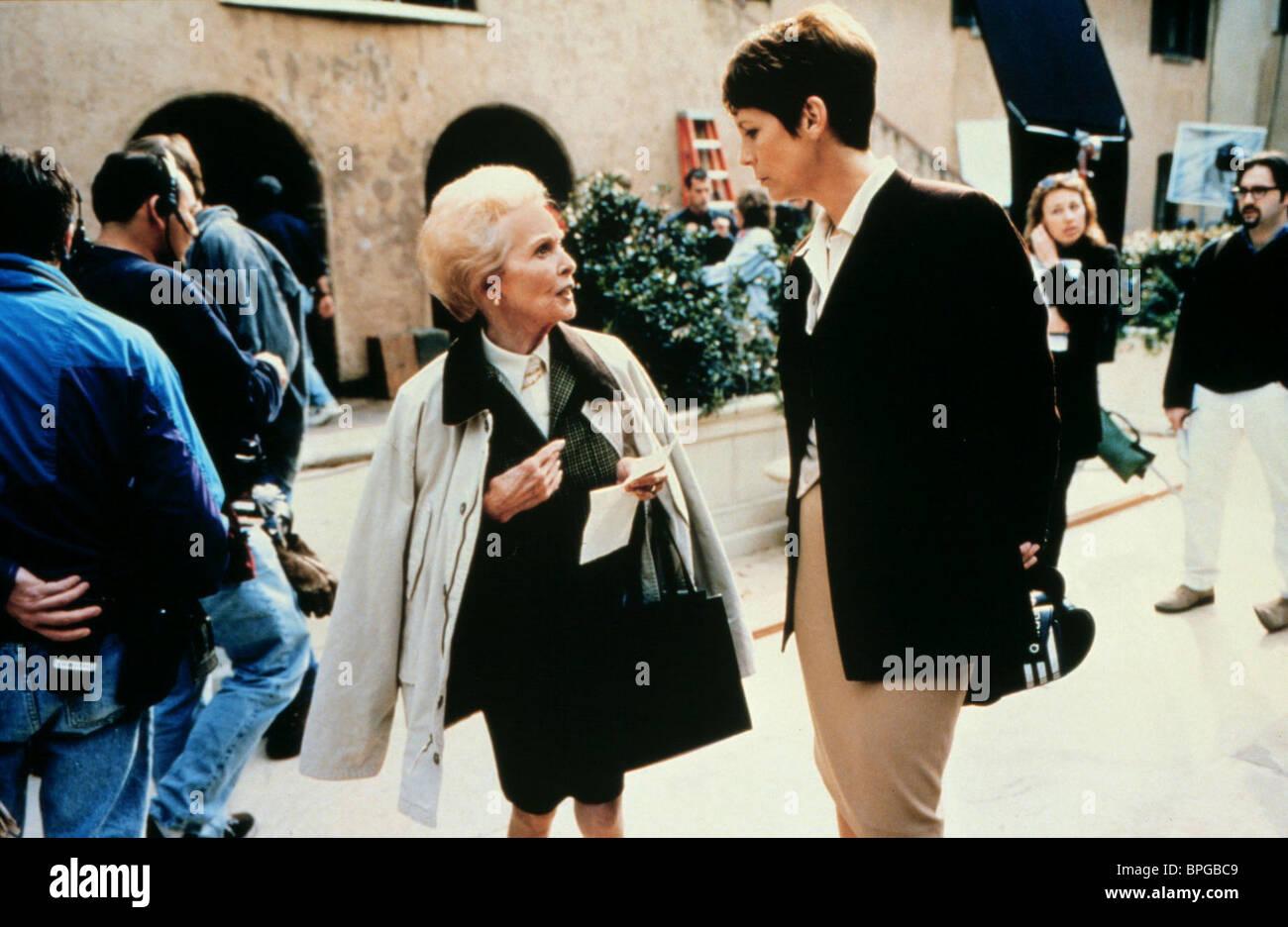 JANET Leigh y Jamie Lee Curtis HALLOWEEN H20: 20 años después; Halloween 7 (1998) Imagen De Stock