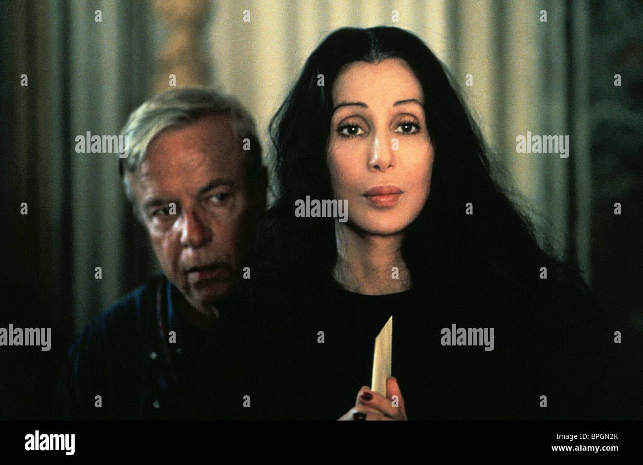 FRANCO ZEFFIRELLI, Cher, té con Mussolini, 1999 Imagen De Stock