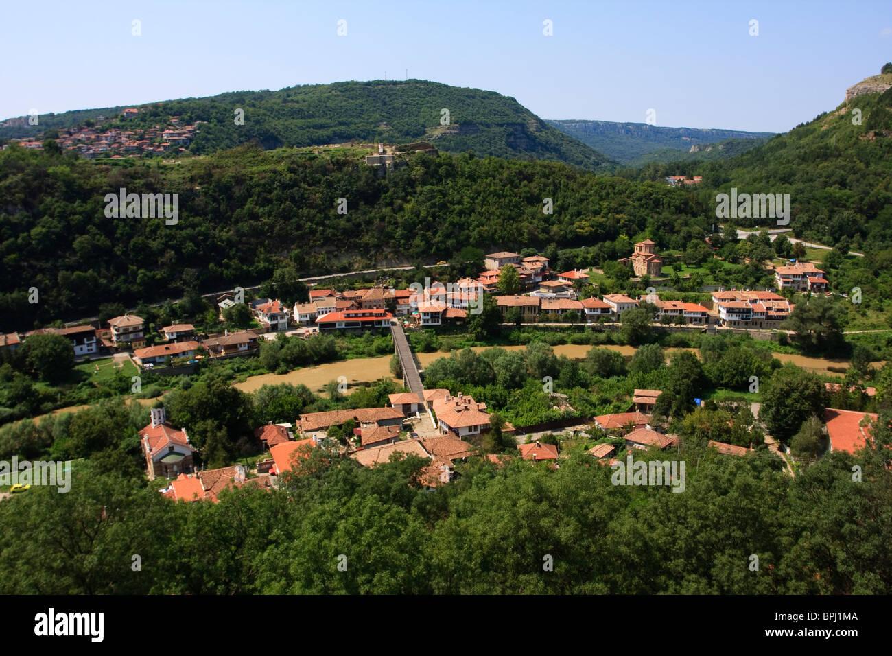 Assen del trimestre en Veliko Tarnovo, Bulgaria Foto de stock