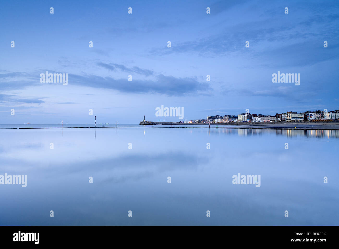 Ciudad costera de Margate, Kent, Inglaterra, Gran Bretaña, Europa Imagen De Stock