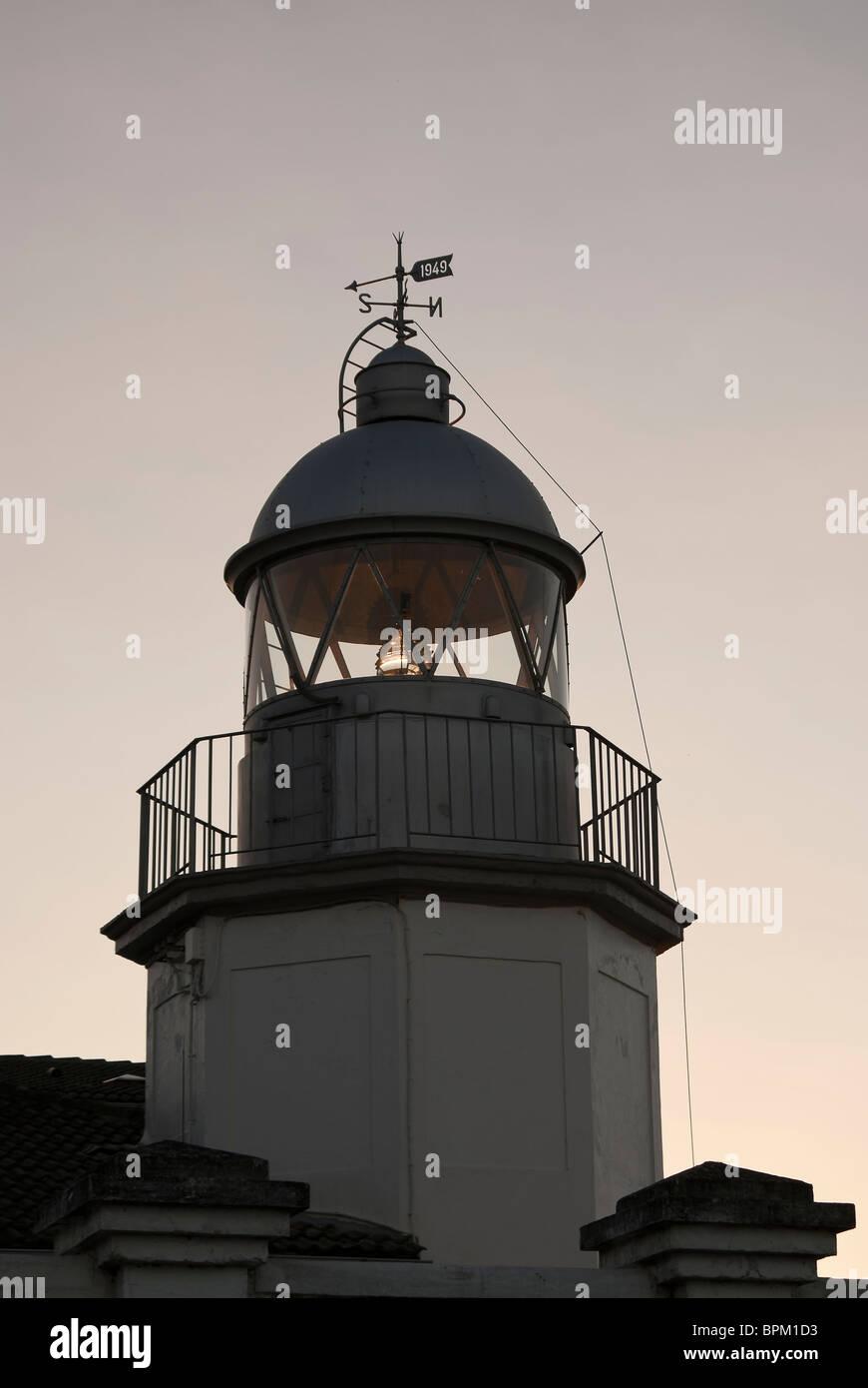 Faro de Llanes Asturias Imagen De Stock