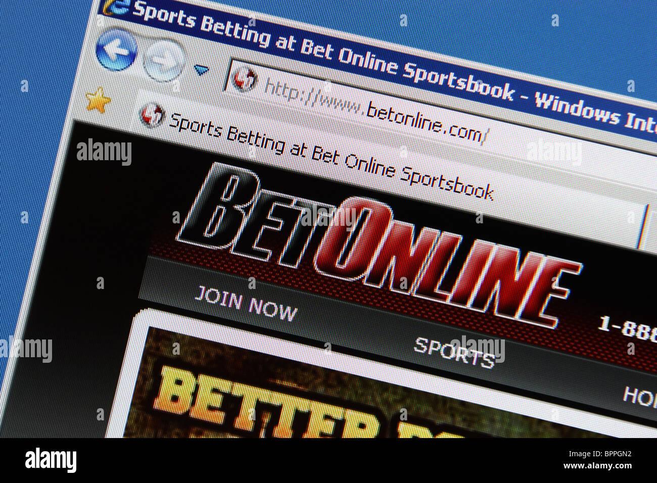 Betonline apuestas deportivas Imagen De Stock
