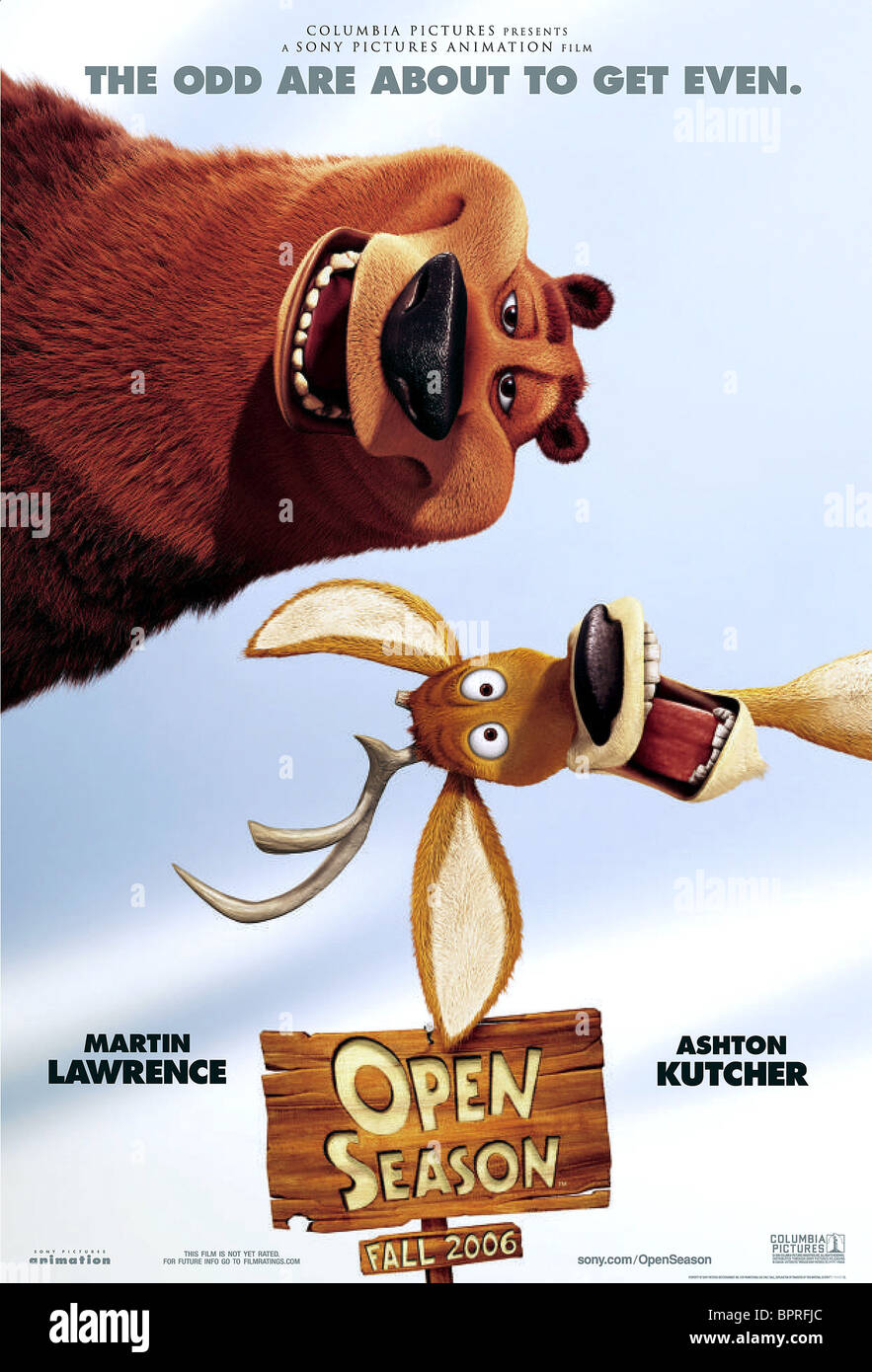 BOOG, Elliot póster, OPEN SEASON, 2006 Foto de stock
