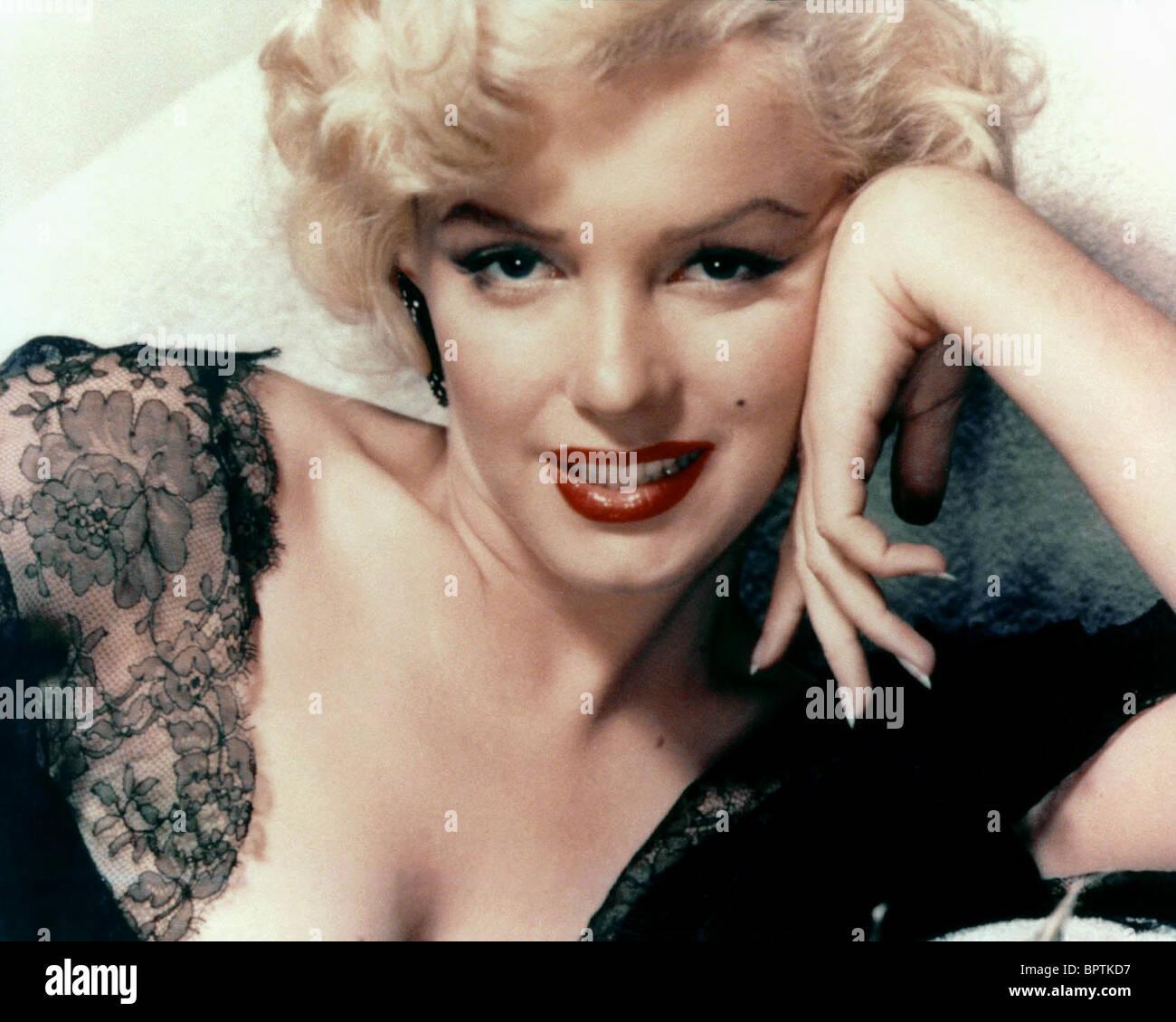 MARILYN MONROE, actriz (1957) Imagen De Stock