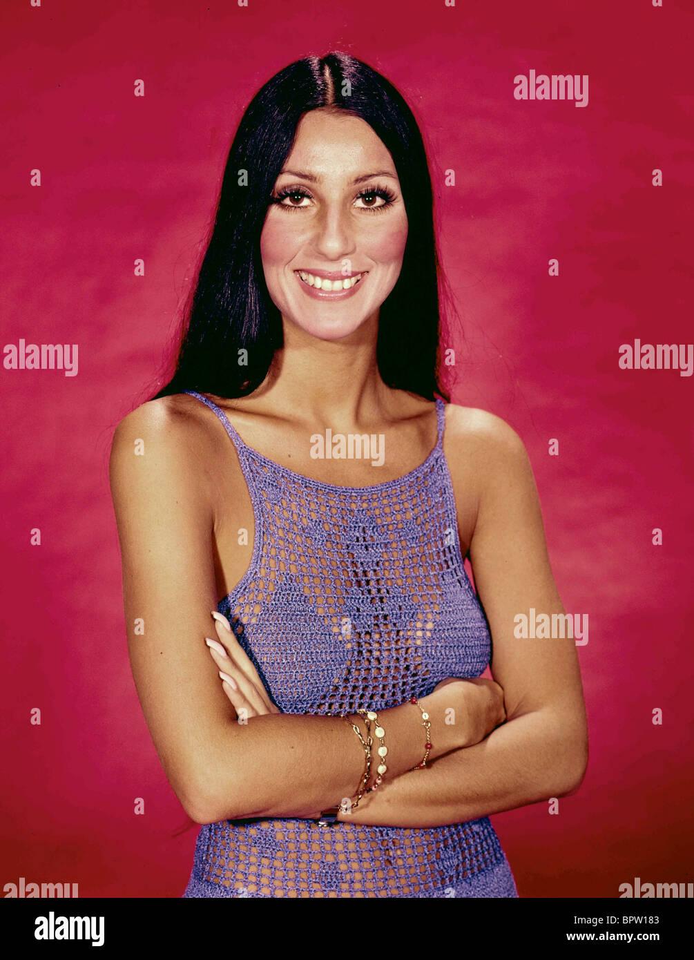 CHER cantante y actriz (1971) Imagen De Stock