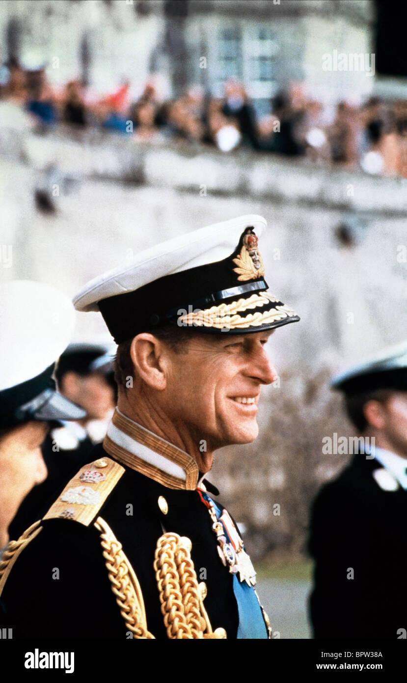 El príncipe Felipe, Duque de Edimburgo el 01 de junio de 1970 Foto de stock