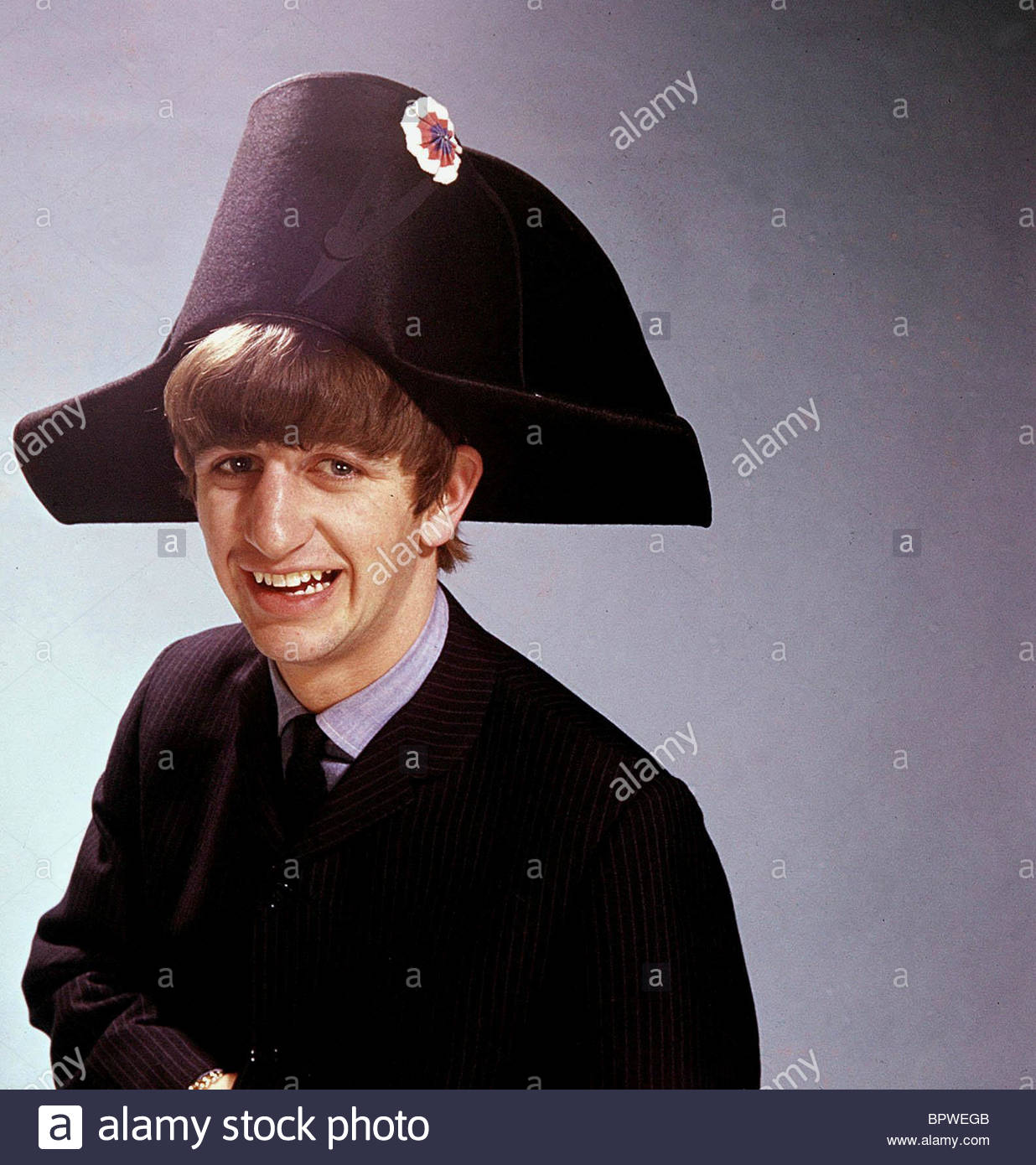 RINGO STARR THE BEATLES (1964). Imagen De Stock