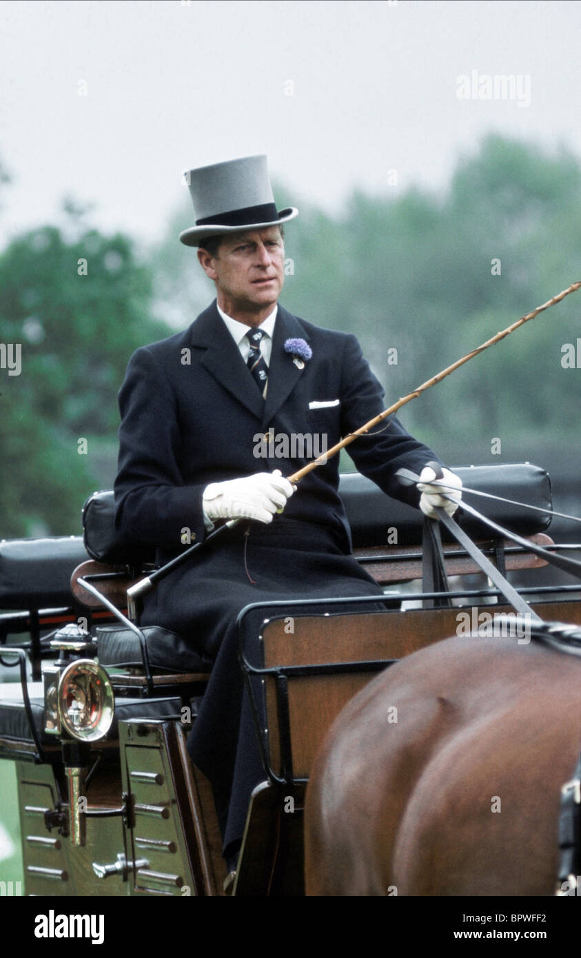 El príncipe Felipe, Duque de Edimburgo el 01 de junio de 1975 Foto de stock