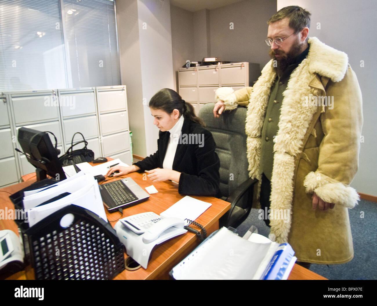 Solución Anti-Crisis y centro contable jefe German Sterligov Foto ...
