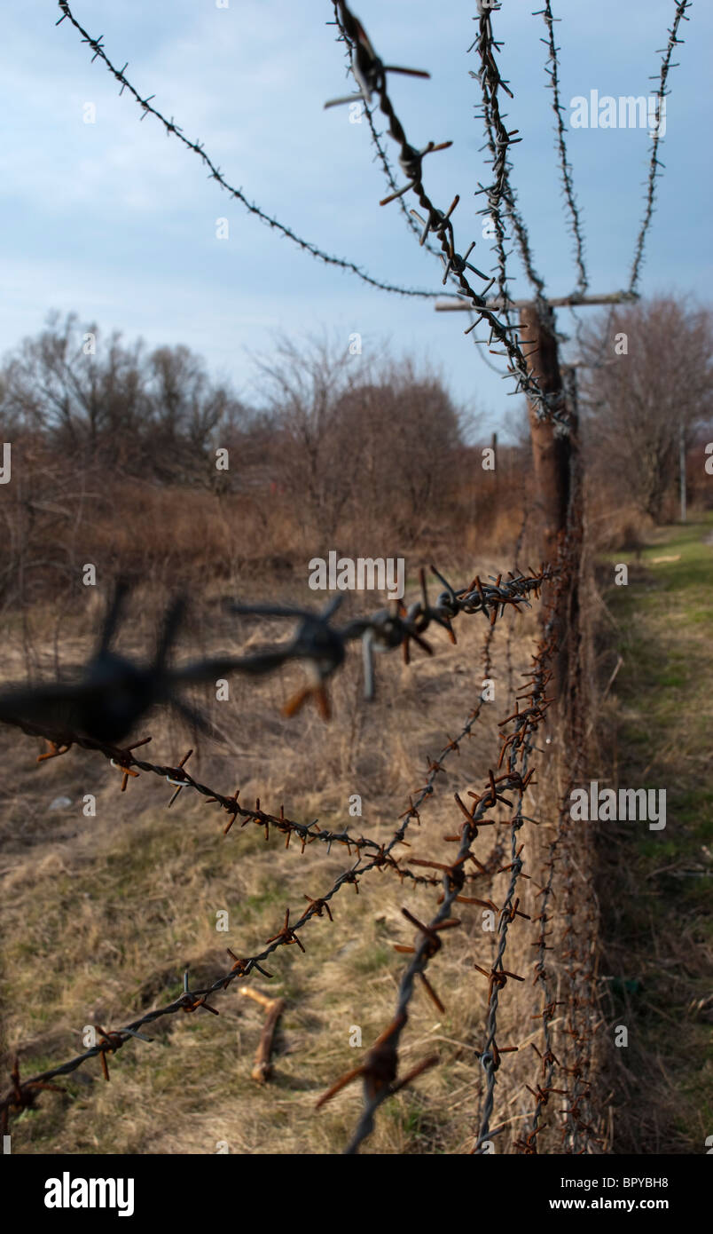 Guerra Fría frontera 2 Imagen De Stock