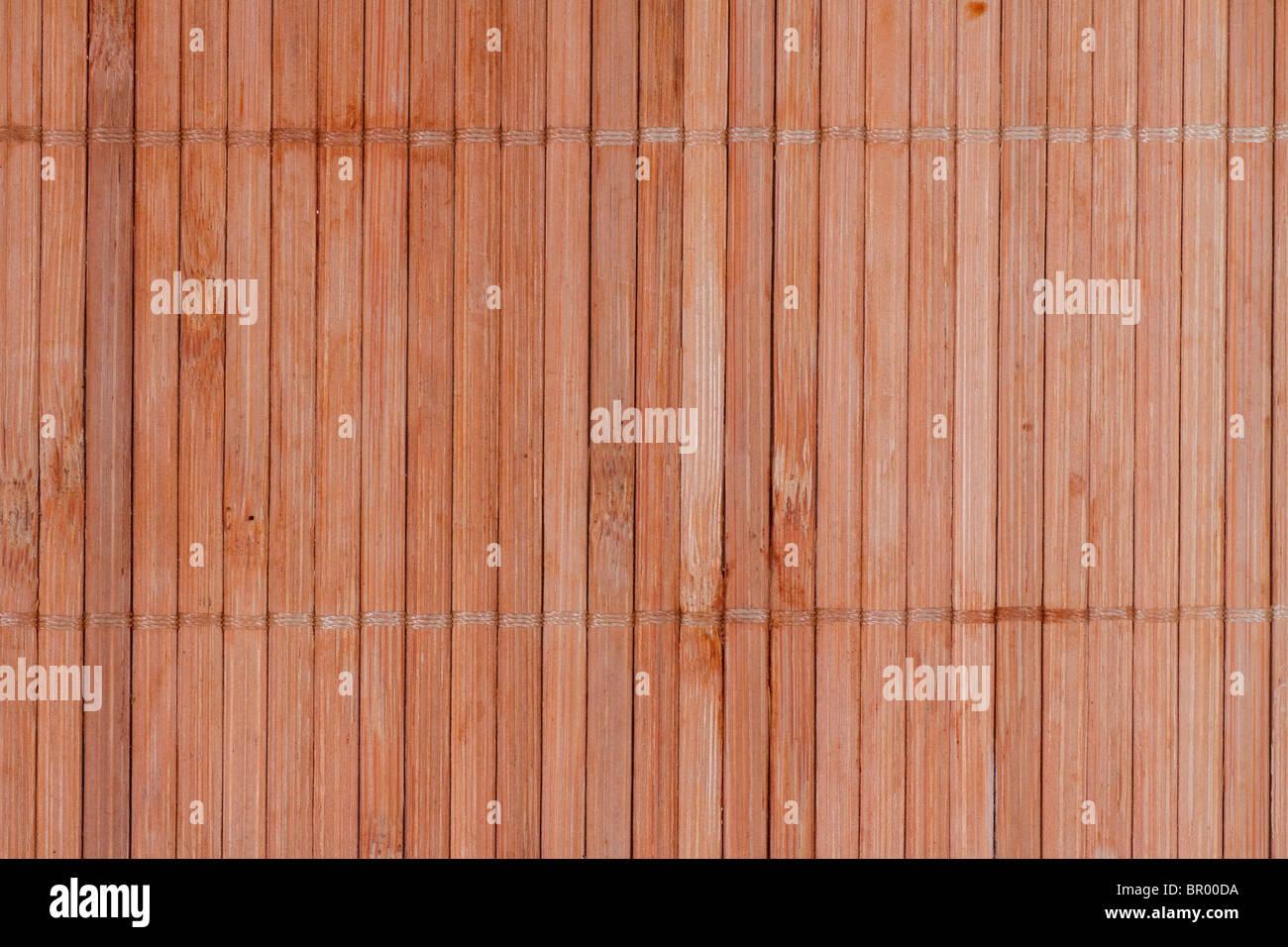 Fondo de bambú junta. patrón horizontal. agradable textura. Imagen De Stock
