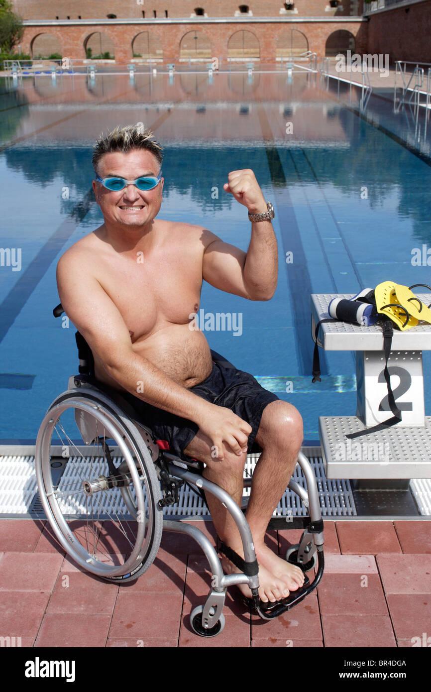 ejercicios natacion silla de ruedas