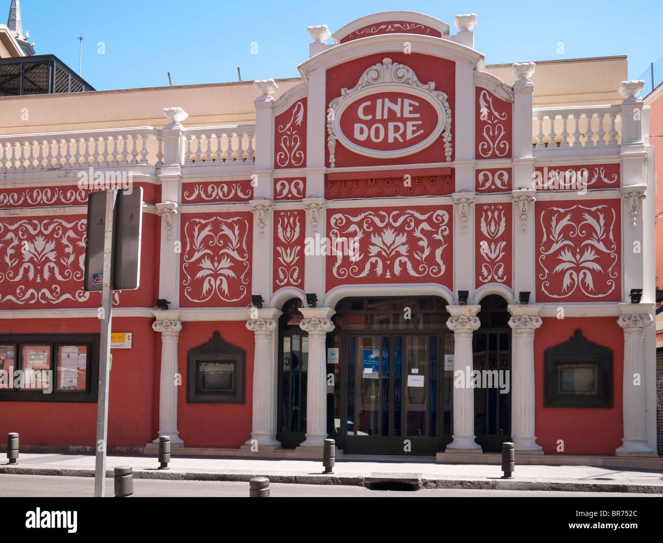"""Cine Doré"" (1923), Casa de Arte Cine en Madrid, España Imagen De Stock"
