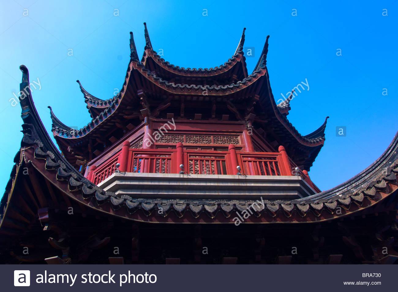 Un templo, Suzhou, China Imagen De Stock