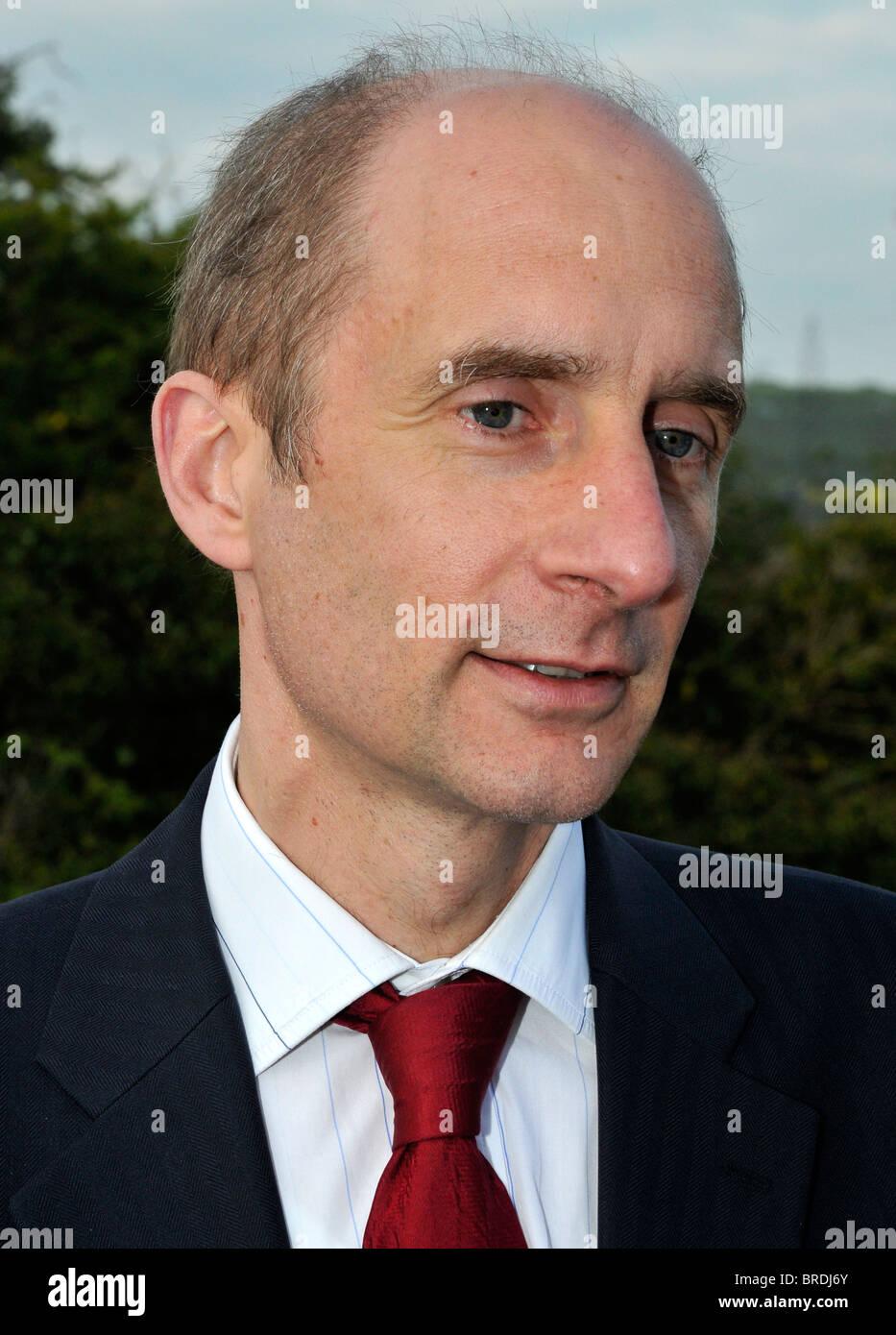 Señor Adonis, Lord Andrew Adonis, trabajo político Imagen De Stock