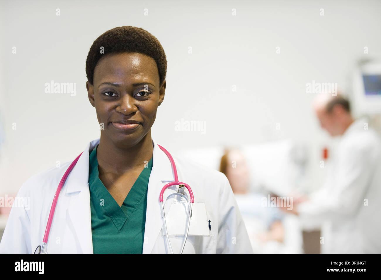 Doctora, Retrato Imagen De Stock
