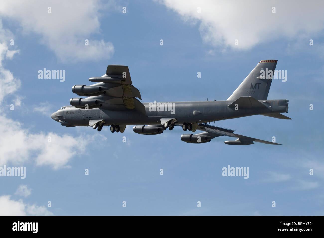 Un Boeing B52 Stratofortress Foto de stock