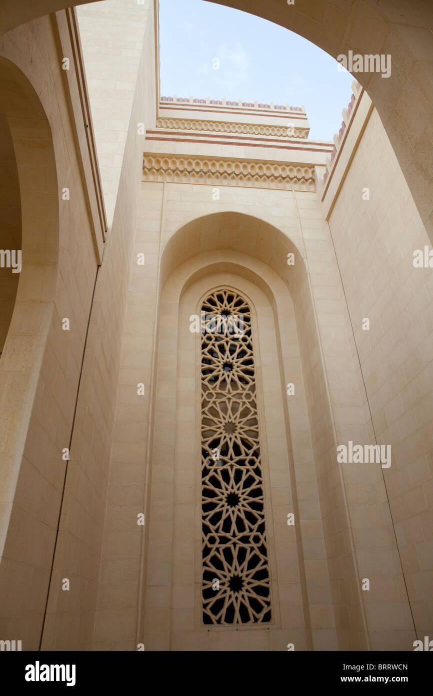 Mezquita Al Fateh en Bahrein Imagen De Stock