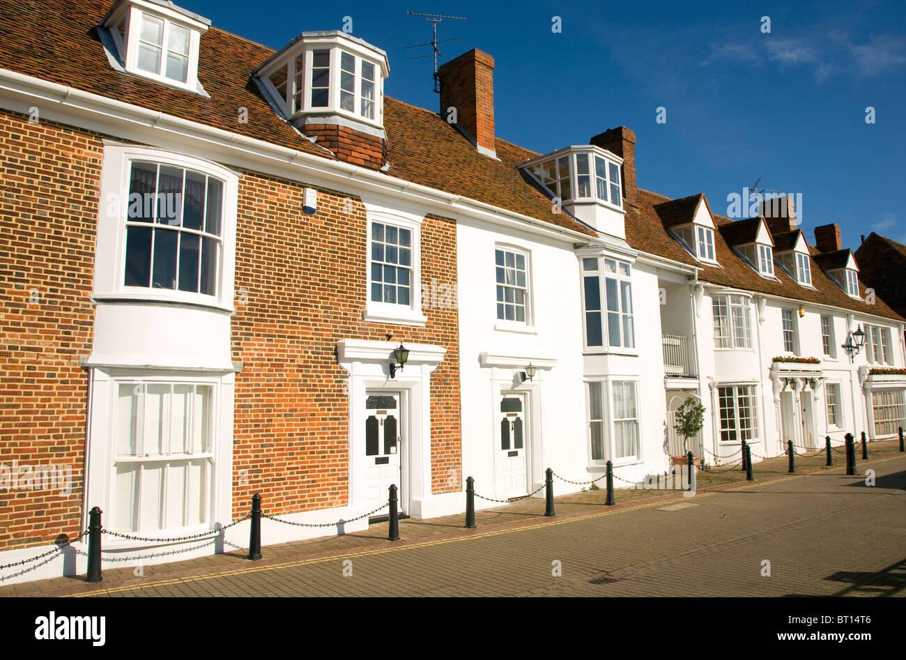 Casa Quayside Crouch Burnham en Essex, Inglaterra Imagen De Stock
