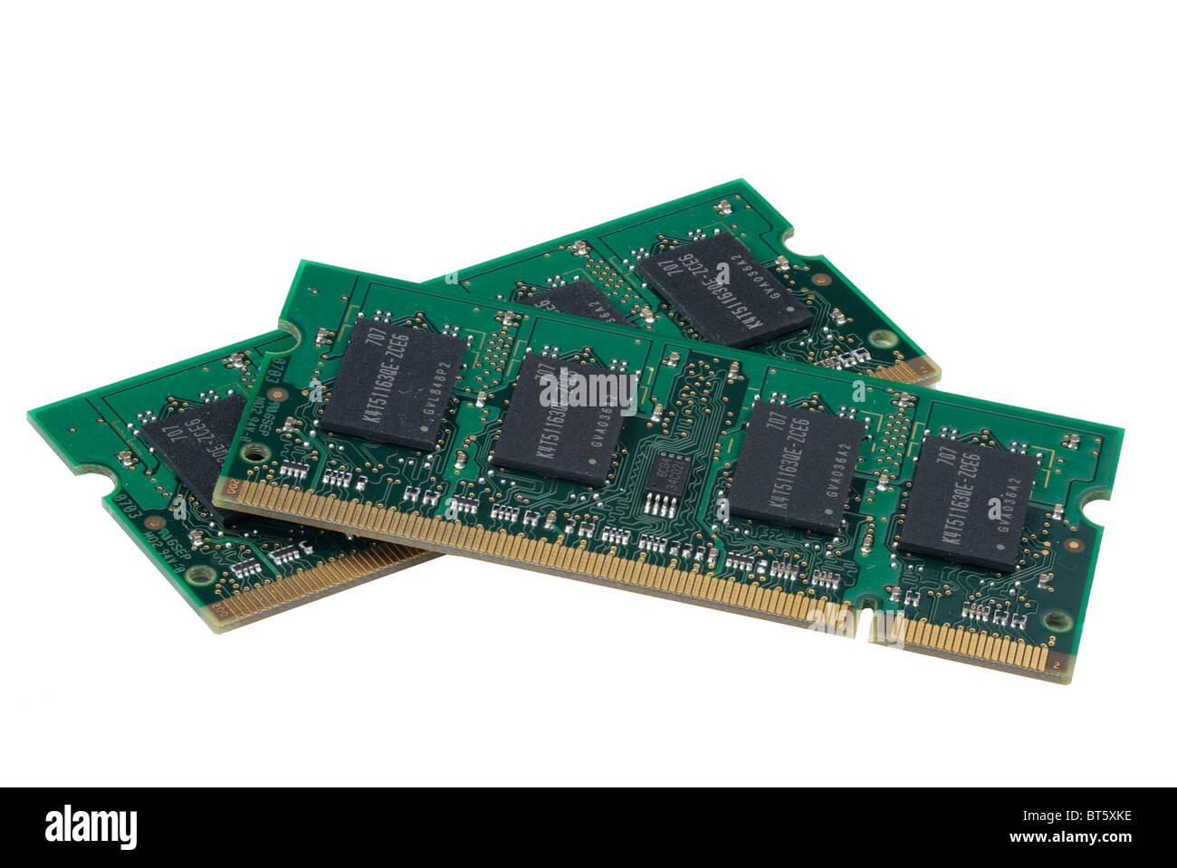 La memoria de la computadora, hyper DoF. Foto de stock