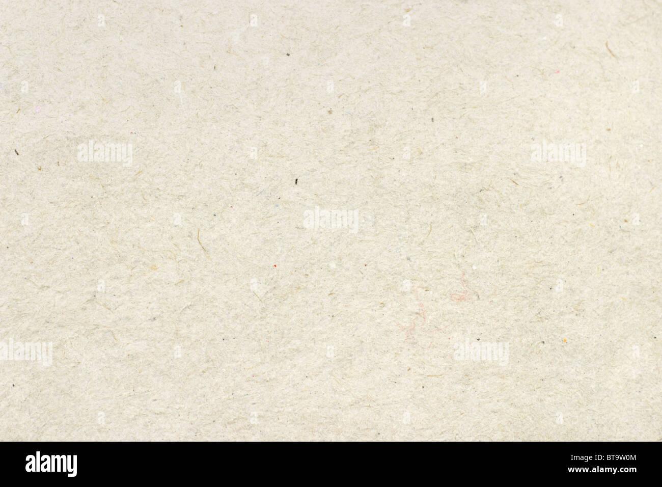 Cerrada de papel reciclado de cartón fondo textura de superficie Imagen De Stock