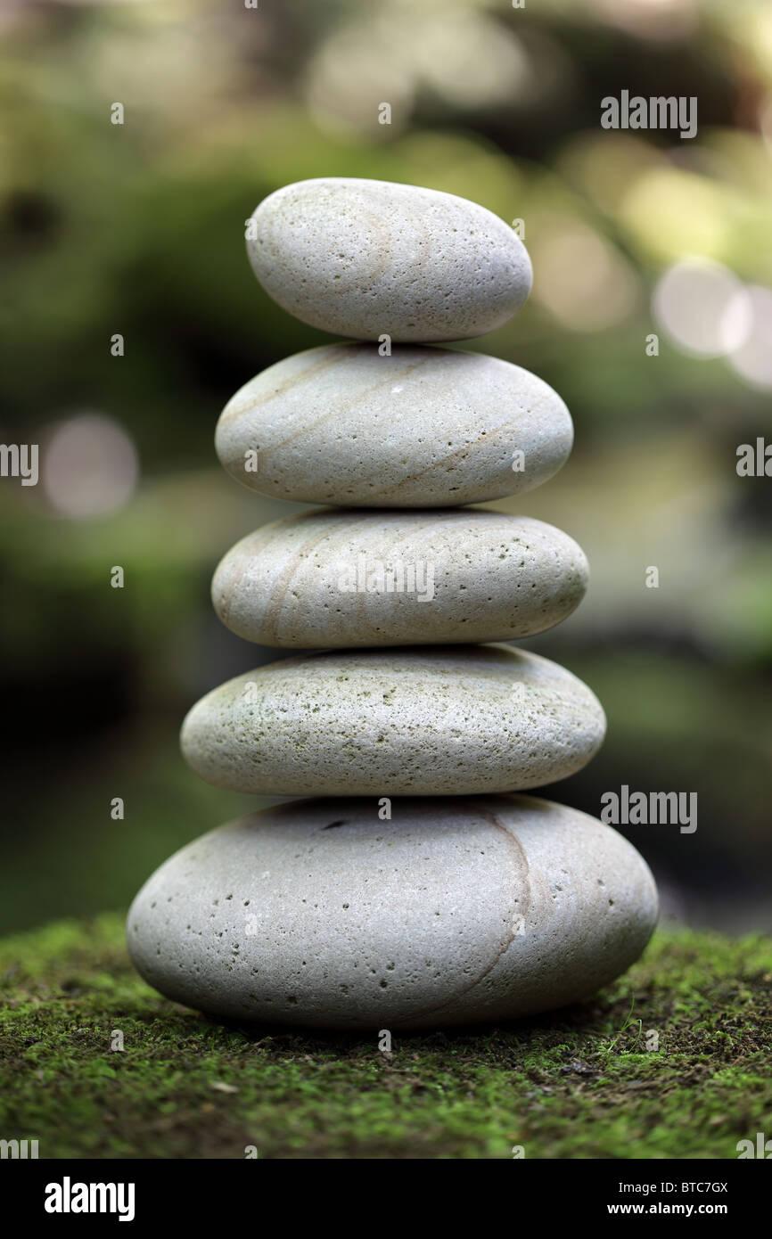El equilibrio y la armonía en la naturaleza Imagen De Stock