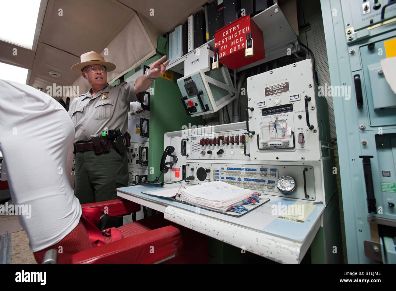 Misiles Minuteman National Historic Site Imagen De Stock