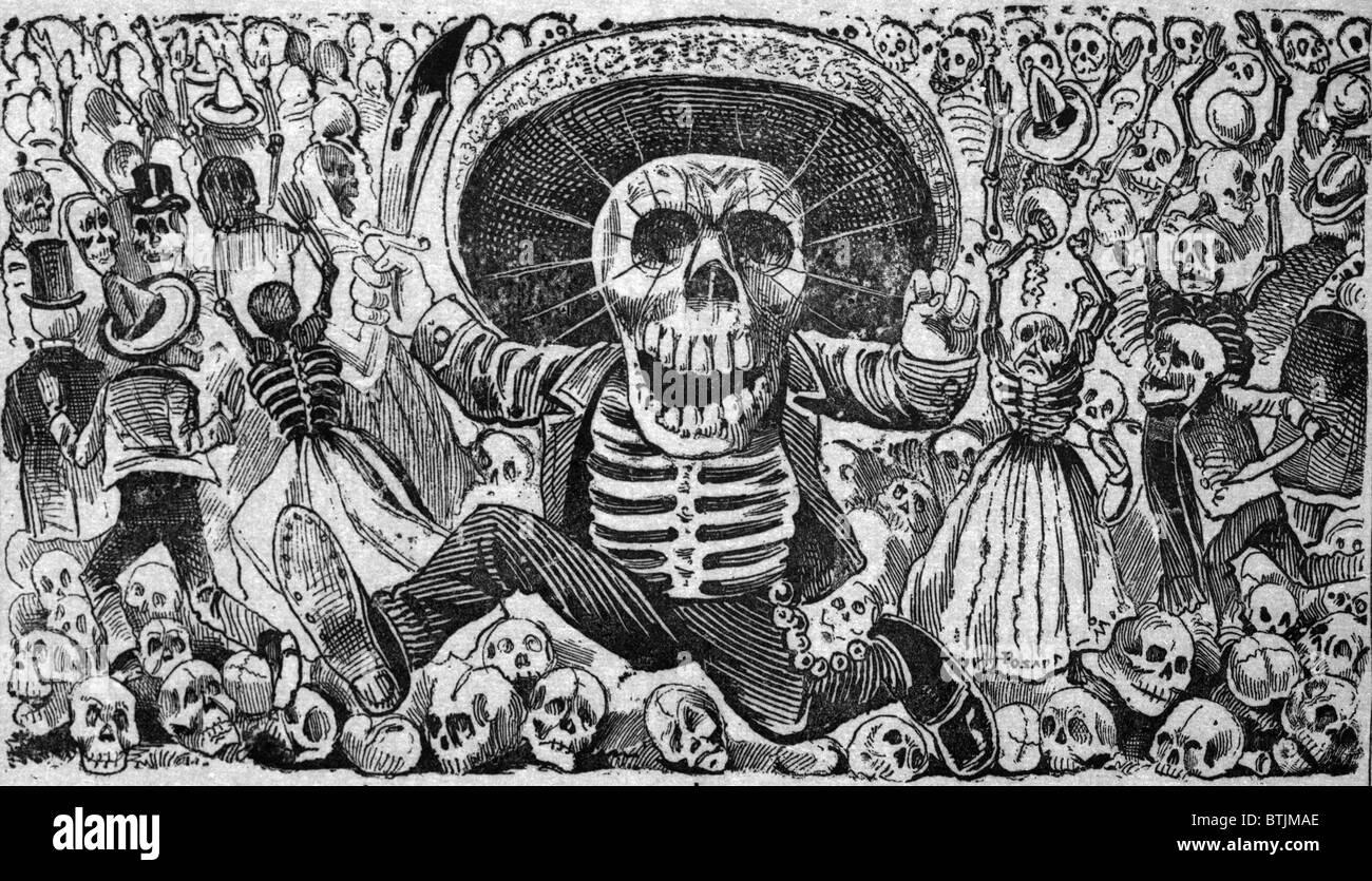 Detalle De La Muerte De Calaveras Del Monton Numero 1