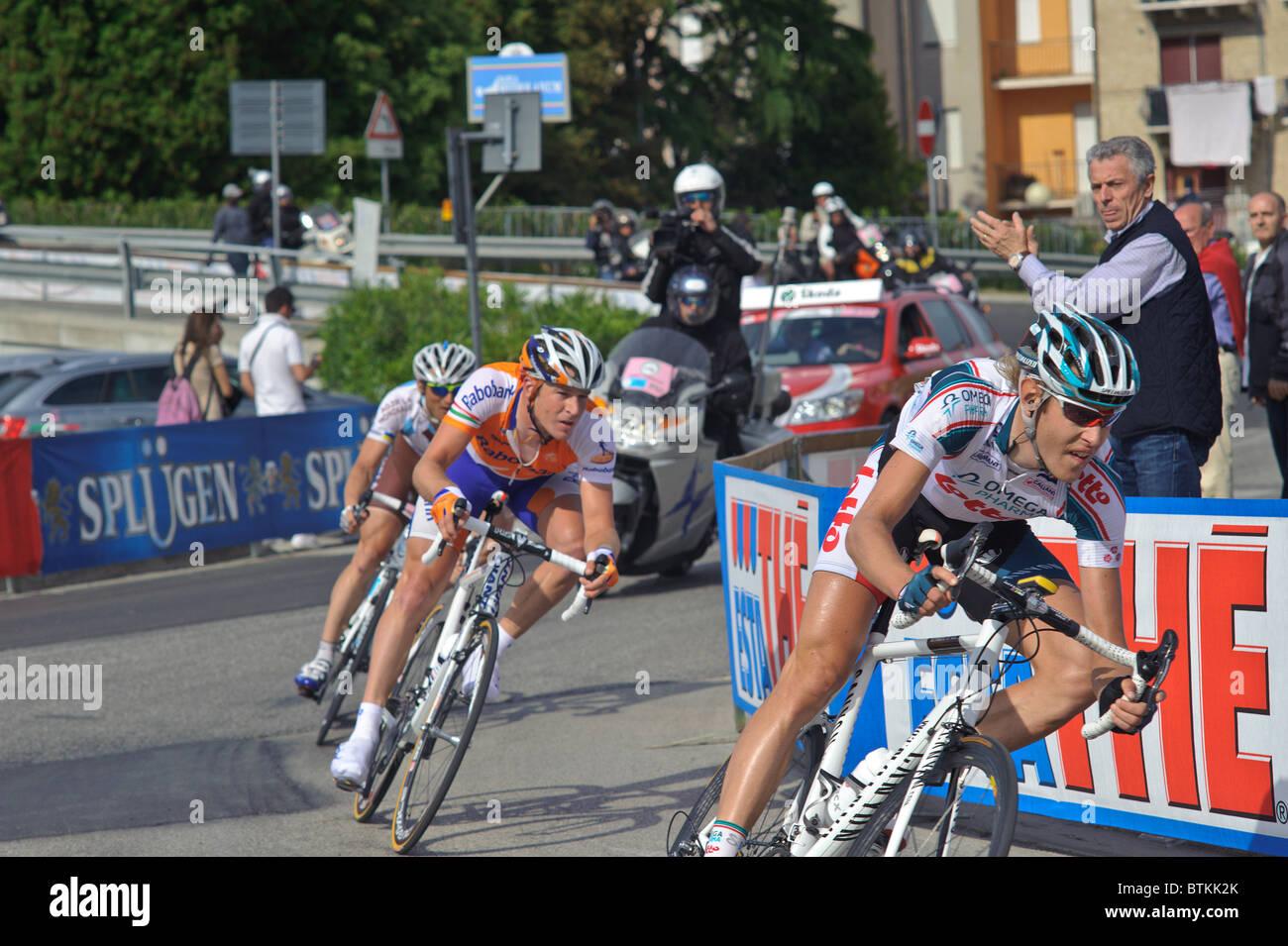 Giro d'italia italia PORTO RECANATI Imagen De Stock