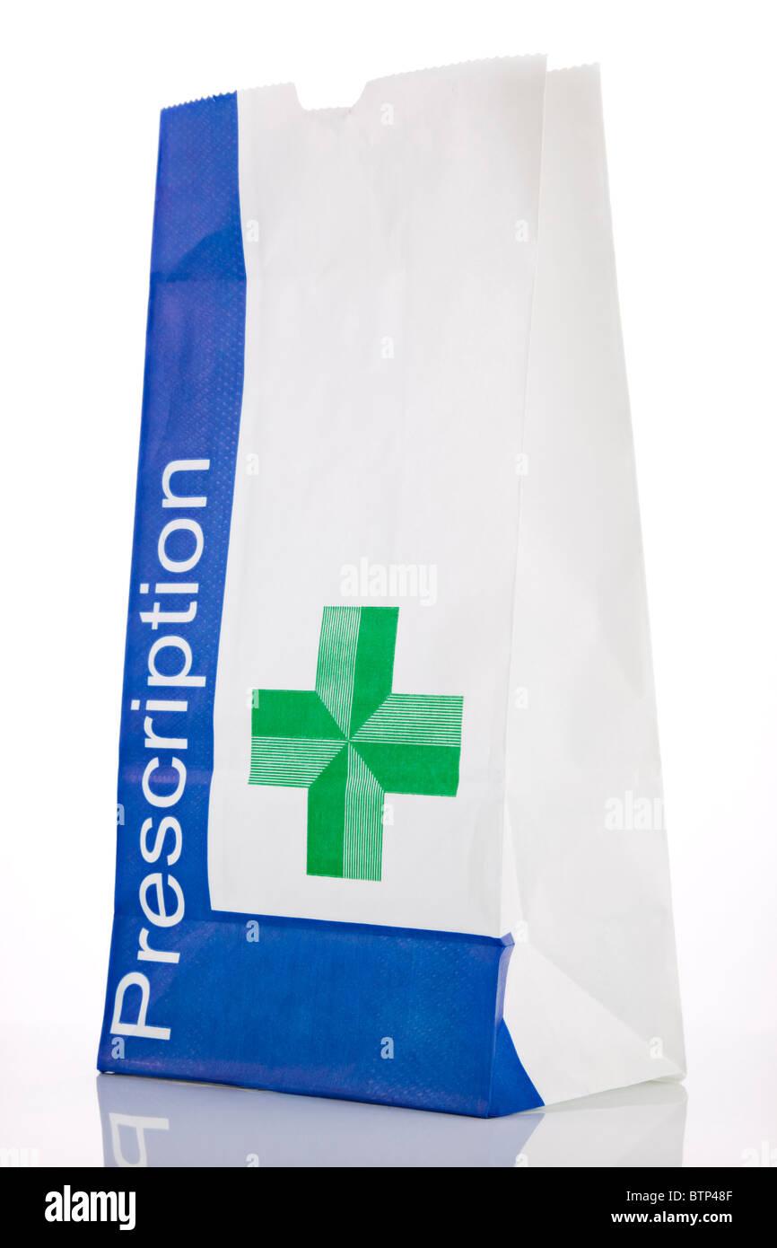 Medicamento de venta con receta en la farmacia Imagen De Stock