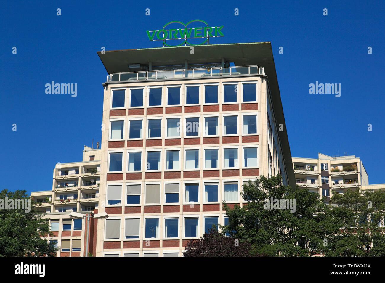 Verwaltungsgebaeude der Firma Vorwerk en Wuppertal-Barmen, Wupper, Bergisches Land Nordrhein-Westfalen, Imagen De Stock
