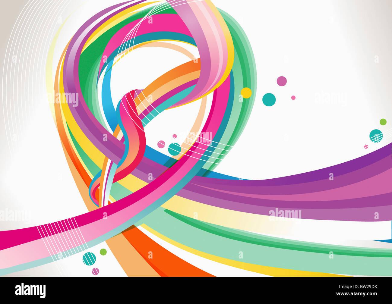 Colorido patrón texturado Imagen De Stock