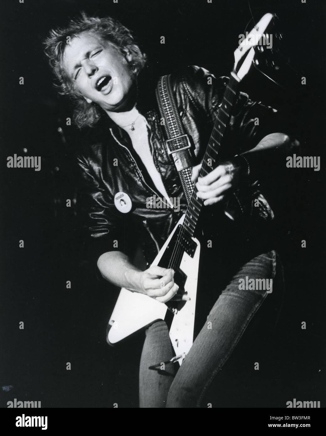 Michael Schenker Guitarrista De Rock Alemán En 1981 Foto